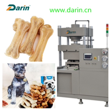 Pet Food Maker Pressed Rawhide botten maken machine