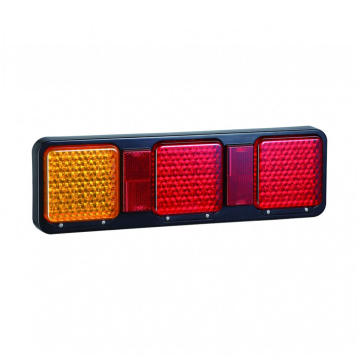 Kalis air LED Semi-Trucks Lampu Gabungan