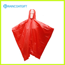 Adult Hooded PVC Raincoat Rvc-183