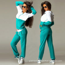 Wholesale Women Gym Casual Sport Wear / Track Suit