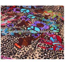 Impresión de la pantalla de seda para 2014 nueva bufanda de las mujeres de la manera del estilo