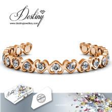 Einfach Liebe Schicksal Schmuck Kristall von Swarovski Armband