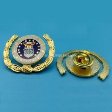 Custom Copper Plating Metal Lapel Pin
