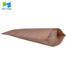 Logotipo personalizado impresso promoção redonda sacos de papel para chá