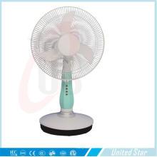 16-дюймовый DC/аккумуляторная настольный вентилятор с 3 скорости (USD ц-403)