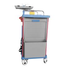 Hospital Nursing Medical ABS Emergency Trolley with Drawer