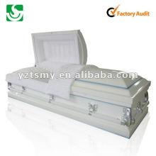 cercueil en bois massif sculpture JS-ST073