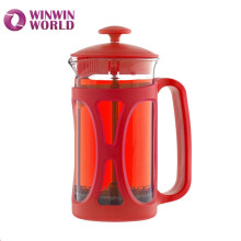 Hot Selling Promotion 350ml Double Filters Best Borosilicate Glass Coffee Press French