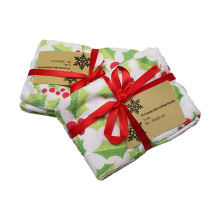 80%Polyester 20%Polyamide Printed Household Cleaning Cloths