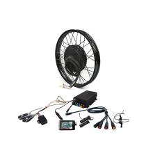 Hot sale free shipping hub motor 18inch 72v 5000w electric enduro bike QS electric bike conversion kit