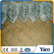 Hengshui 60 * 60 milímetros 75 * 75m m 50 * 50m m galvanizó la cerca de la malla del acoplamiento de cadena fábrica