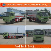 Dongfeng Tanker Fuel Tank Truck 15cbm Oil Fuel Tank Truck