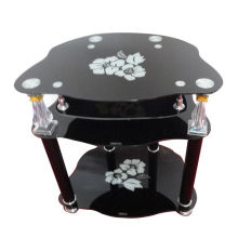 Hot Selling New Design King Part Glass TV Stand