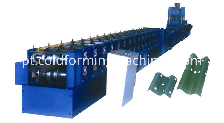 guard rail roll forming machine 1