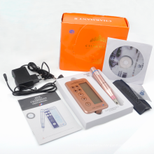 Orange Color High Quality Charmant Permanent makeup kit tattoo machine