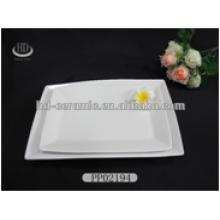 ceramic factory wholesale rectangular ceramic dinner sets