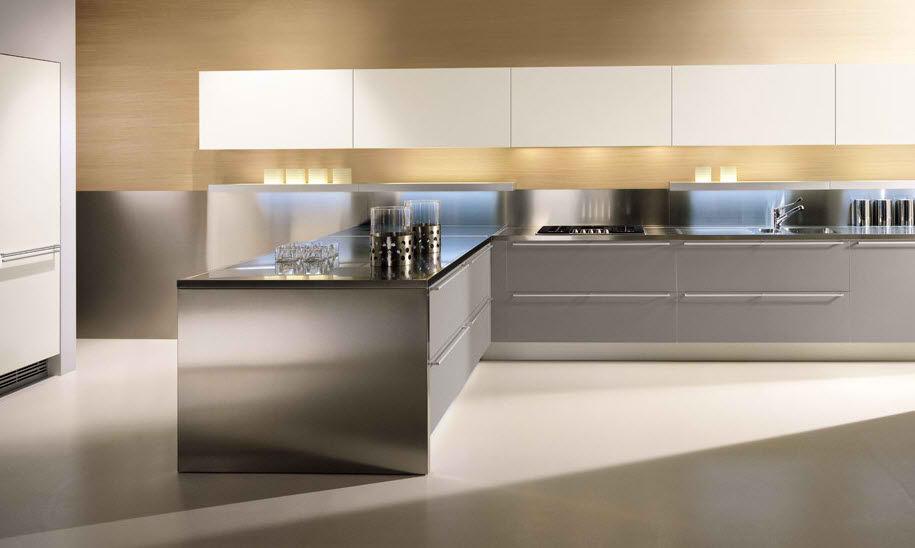 Aluminium Kitchen Cabinets Anti-mildew