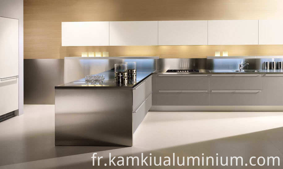 Aluminum kitchen cabinets waterproof