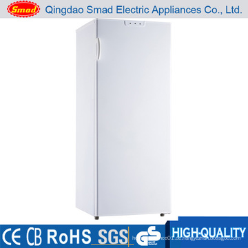 188L Silber Farbe No Frost Vertikale Tiefkühltruhe mit Schubladen