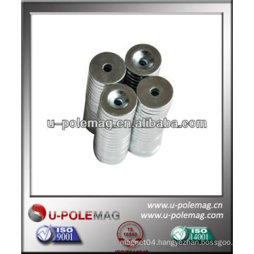 Sintered NdFeB Magnet With Countersunk