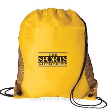 sac à cordon de nylon imperméable à l'eau personnalisé