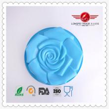 Grande molde do bolo do silicone do partido / aniversário de Rosa