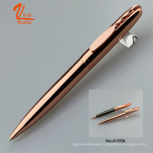 Metal Engrave Logo Pens Gold Ballpoint Pen on Sell