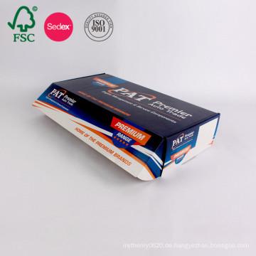 Kundenspezifisches Farbdruckpapier-gewölbte Kasten-Pappkarton-Verpackung