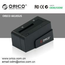 "ORICO 6618SUS 2.5""&3.5"" SATA HDD docking station Hard Drive caddy HDD case Enclosure case USB e-SATA"