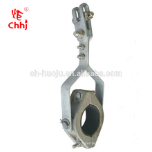 JGX High voltage hanging cleat clamp for cable suspension