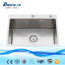 DS 6045 handmade sinks stainless steel outdoor wash basin sinks water sink