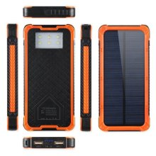 10000mAh carga móvil solar