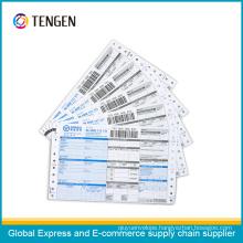 Custom Printing Express Logistic Courier Waybill