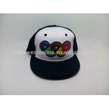 Chapeau plat d'été chapeau de baseball hip-hop casquette personnalisée chapeau en gros ny
