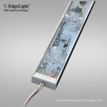 24V Waterproof light box led module with lens