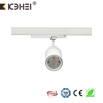 25W+commercial+6000K+3wire+LED+adjustable+tracklight