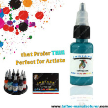 Turquoise Tattoo Ink Set