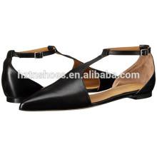 Novos Modelos Pointed Toe Shoes Senhoras Moda Ballet Flat Shoes