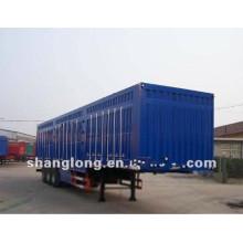 3 eixo 40ton Van Semi reboque, reboque da caixa da carga feito em China