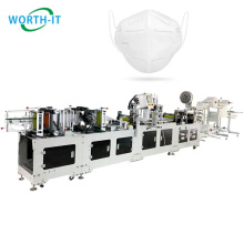 Full Automatic CE Mask Machines Stock Kn95 Ffp2 Masking Machine Germany Face Mask Machine Design 3D N95 Price In China