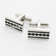 fashion jewelry Stainless Steel Cufflinks sets for mens shirts China supplier