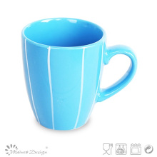 12oz Colorful Coffee Mug with White Line