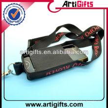 Customized logo lanyard neck strap mobile phone