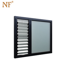 aluminium glass slat  louver window,glass window shutters