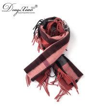 Китайский Производитель поставлял женщин длинный 100% Кашемировый шарф с кисточкой