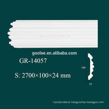 construction material PU ceiling cornices in modern home interior decoration