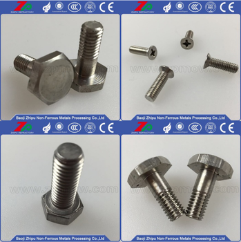 Hex Molybdenum Screws