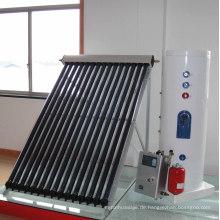 2015 Heißer Verkauf 100-1000lpd aufgeteilter unter Druck gesetztes Hitze-Rohr-Solarwarmwasserbereiter mit Wärmetauscher