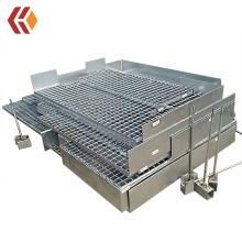 Galvanized Steel Grating With Kick Plate | Steel Grating Walkway / Platform | Flooring Grating