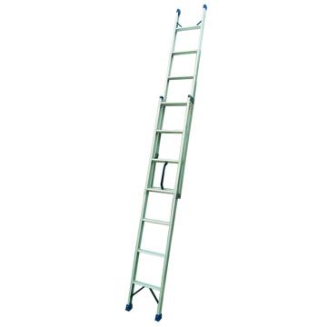 Extensión sola escalera recta aluminio 4M
